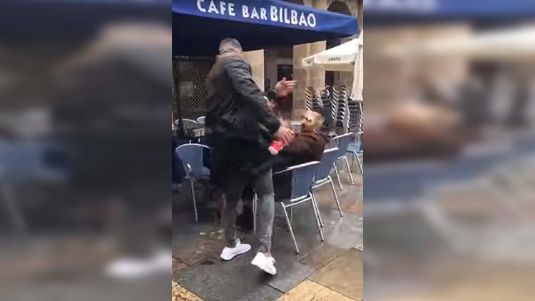 """""""Tú, Gabilondo, ¿eres un proetarra?"""": agresión de ultras del Betis a un hombre en Bilbao"""