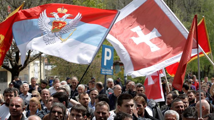 """""""La anexión por Occidente es inevitable"""": Protestas en Montenegro contra la adhesión a la OTAN"""