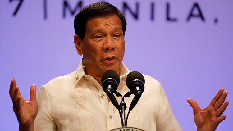 """Duterte sobre Kim Jong-un: """"El tipo simplemente quiere acabar con el mundo"""""""