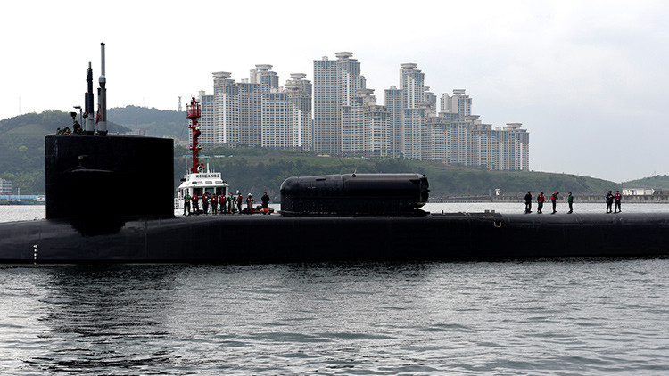 Corea del Norte amenaza con hundir el USS Michigan