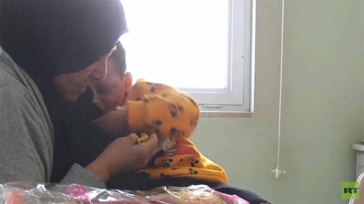 Así luce hoy la niña iraquí que sobrevivió al fuego cruzado entre terroristas y EE.UU. (VIDEO)