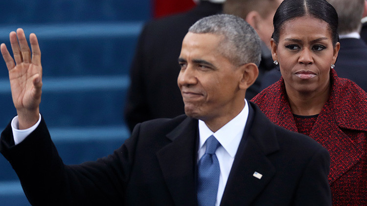 Michelle Obama explica su 'mirada asesina' durante la investidura de Trump (FOTOS)