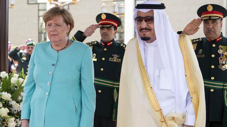 Merkel omite una de las reglas principales sauditas durante su visita oficial al reino