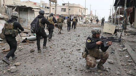 Un operativo del Ejército de Irak