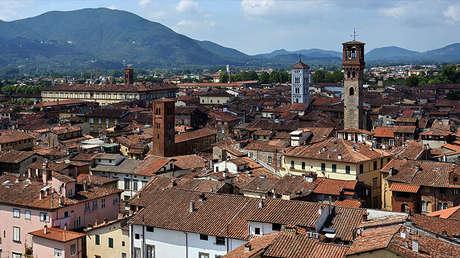 Vista general de la ciudad de Lucca