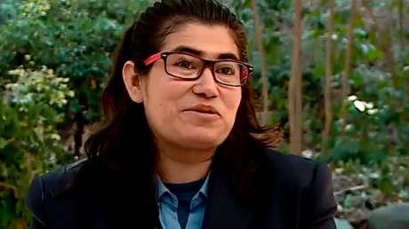 La religiosa Francisca durante su entrevista en el canal TVN