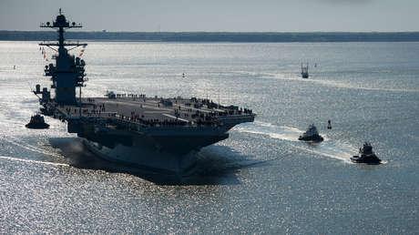 El USS Gerald R. Ford (CVN 78)