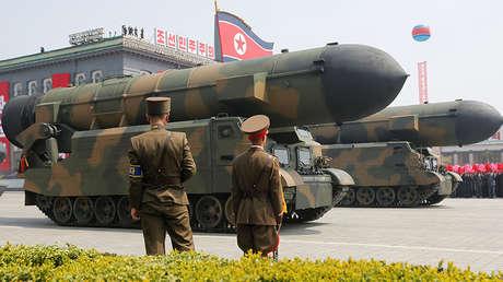 Pionyang, Corea del Norte, el 15 de abril de 2017