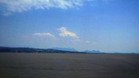 Parte seca de la Laguna de Cuitzeo