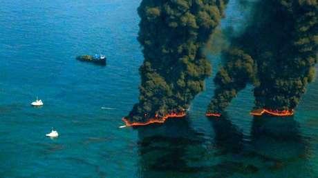 Calculan cuál es el daño causado por el derrame de petróleo más grande en la historia de EE.UU.