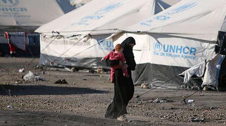 Un campo para los refugiados en Siria. 3.04.2014