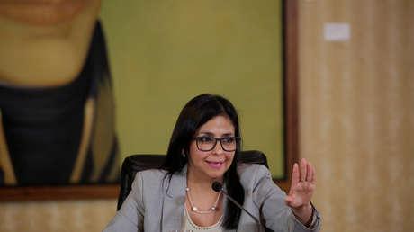 La canciller venezolana Delcy Rodríguez