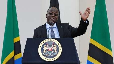 Presidente de Tanzania John Magufuli