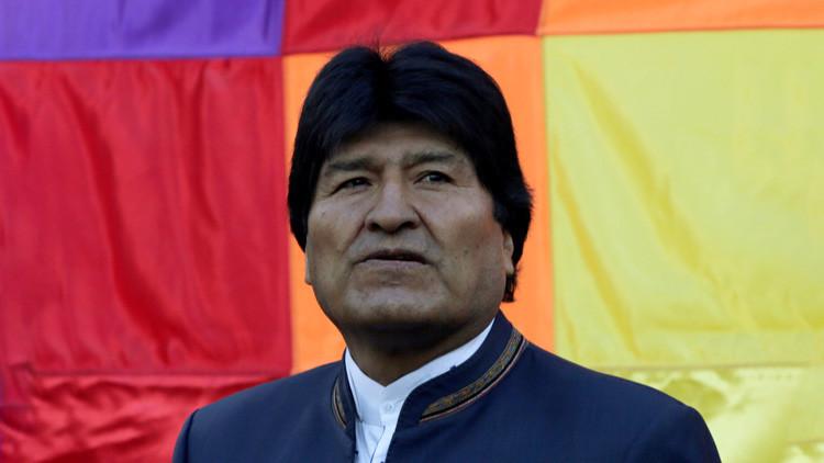 """Evo Morales: """"El golpe de Estado a Venezuela es también un golpe a Bolivia y a otros países"""""""