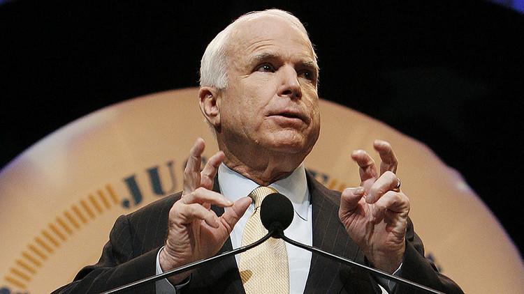 McCain se pronuncia sobre un ataque preventivo contra Corea del Norte