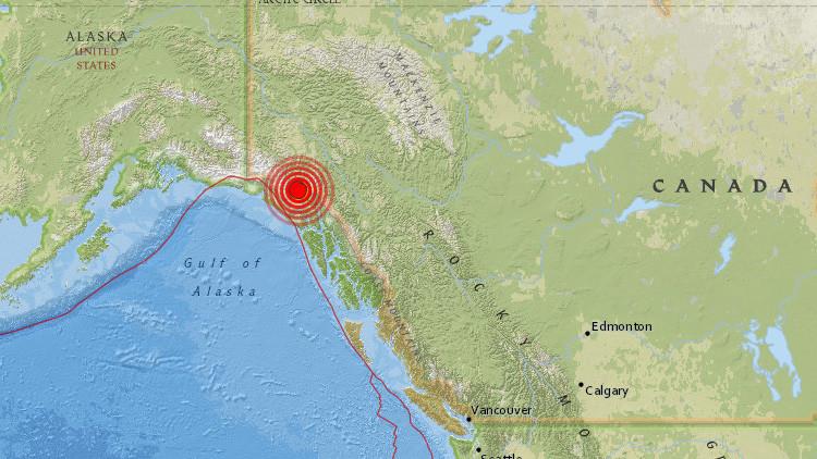 Un sismo de magnitud 6,2 sacude Canadá