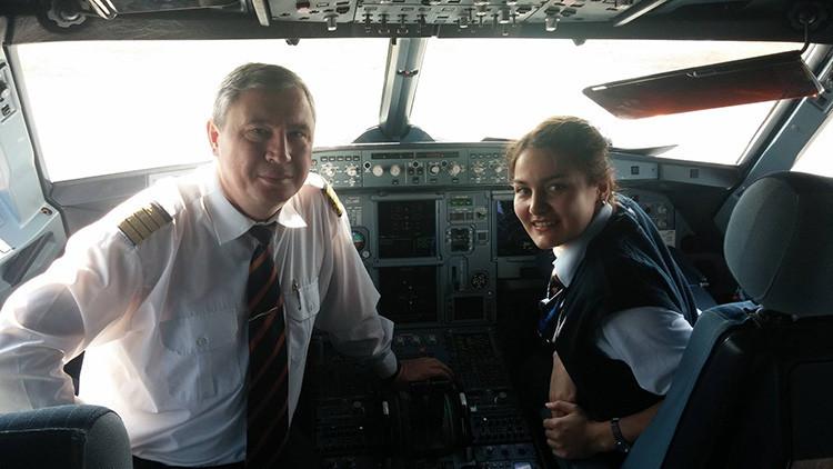 El piloto de Aeroflot que 'bailó' con dos cazas de la OTAN responde a RT todas las preguntas