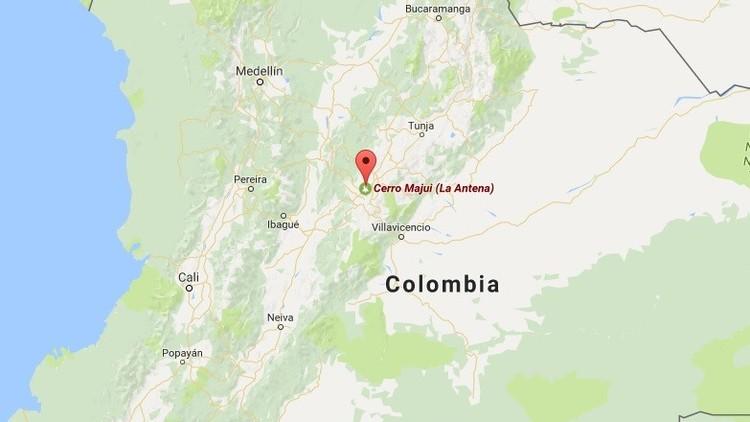Colombia: Unas 8 personas mueren en un accidente de una avioneta militar
