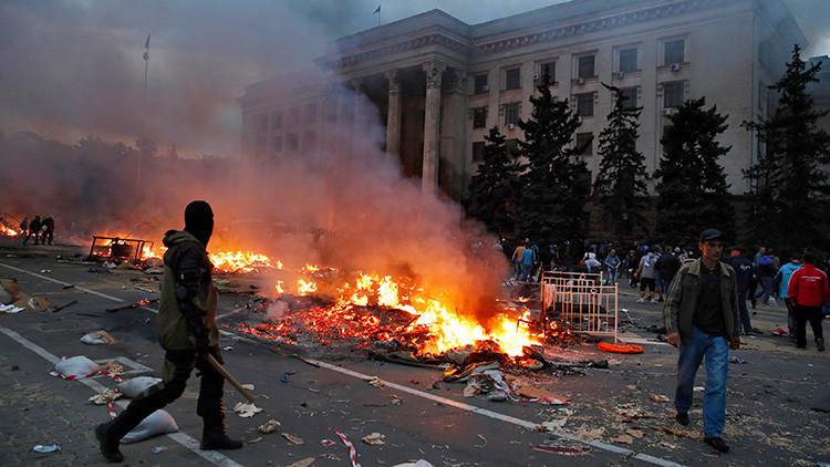 Tres años después: Los culpables de que 42 manifestantes murieran quemados en Odesa siguen impunes