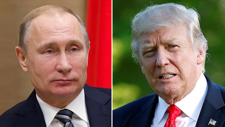 Putin y Trump hablan vía telefónica sobre las crisis en Siria y Corea del Norte