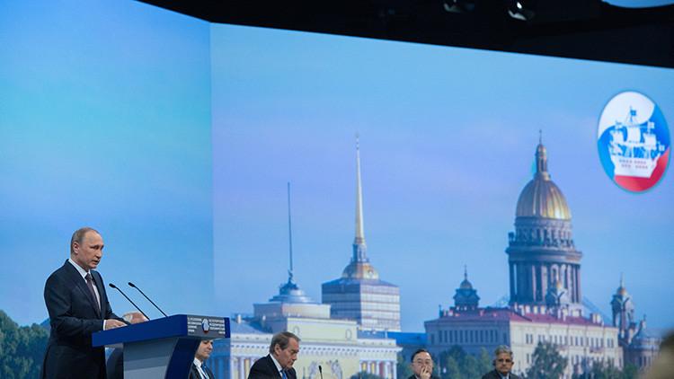 Putin ofrecerá un discurso en la sesión plenaria del Foro Económico Internacional de San Petersburgo