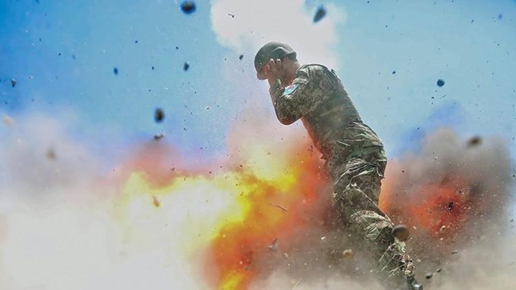 Revelan las imágenes de la explosión que le costó la vida a una soldado estadounidense