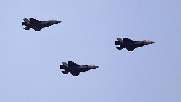 VIDEOS: Israel presenta sus nuevos aviones de combate de quinta generación