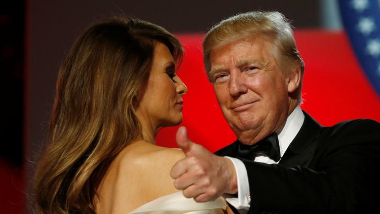El polémico 'me gusta' de Melania Trump que habla del supuesto 'muro' que la separa de su esposo