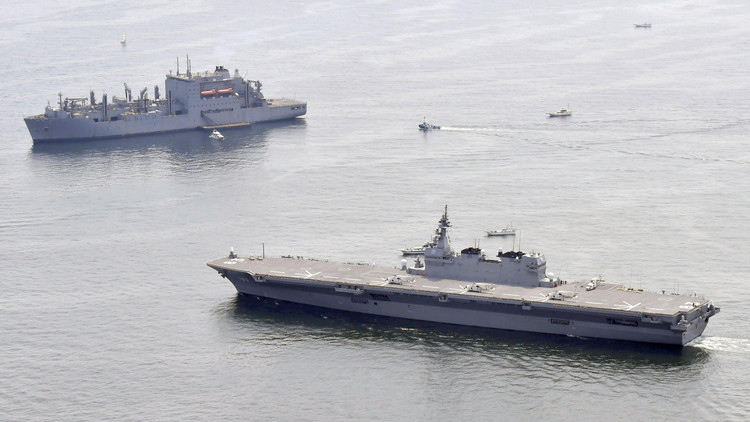 Japón envía un nuevo buque de guerra para apoyar a la Armada de EE.UU. en el Pacífico
