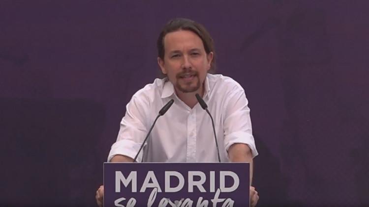 Podemos convoca una manifestación en apoyo de la moción de censura a Mariano Rajoy