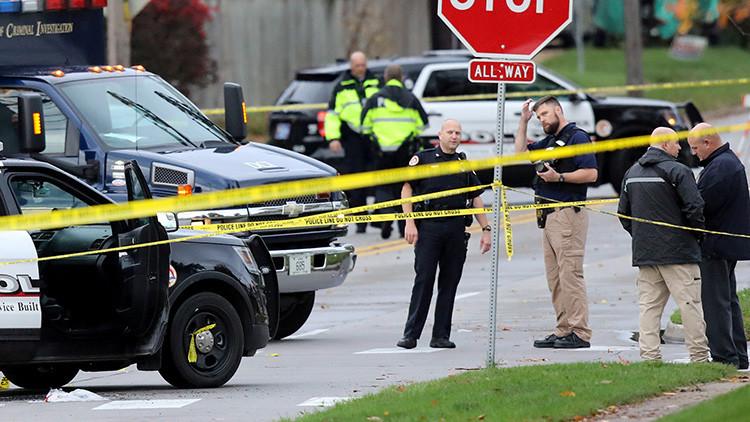 VIDEO: Dos muertos en un tiroteo en un colegio de Texas