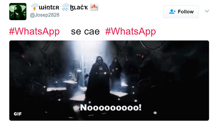 Las redes se inundan de memes tras la caída mundial de WhatsApp