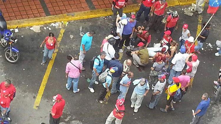 Ataque contra chavistas: Arrestan al hombre que habría lanzado un botellazo que mató a una mujer