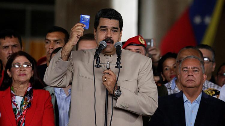 Maduro anuncia la captura de 4 cabecillas de bandas armadas vinculadas con la oposición