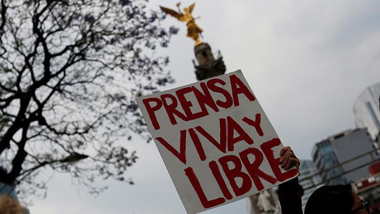 """México es el país de América Latina """"más peligroso"""" para ejercer el periodismo"""