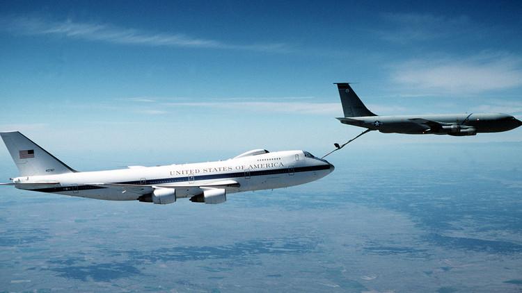 El 'avión del juicio final': Así es la aeronave que protegerá a Trump en caso de una guerra nuclear