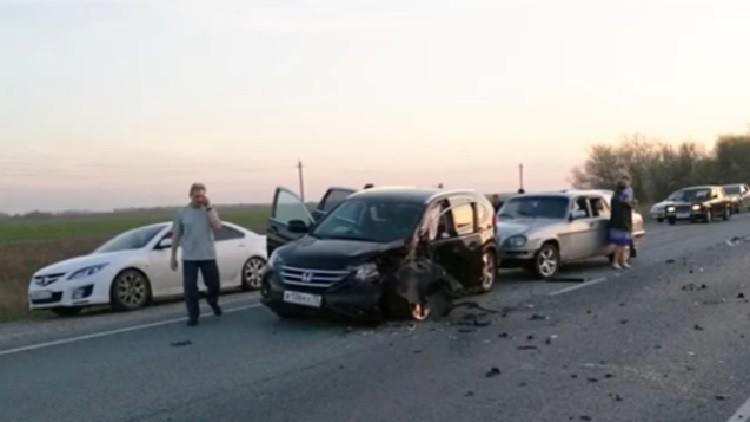 FUERTES IMÁGENES: Un sacerdote y su hermano causan un trágico accidente de motos en una autopista