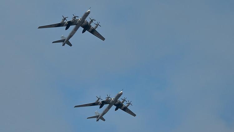 El Ministerio de Defensa ruso comenta al incidente con aviones de combate cerca de Alaska