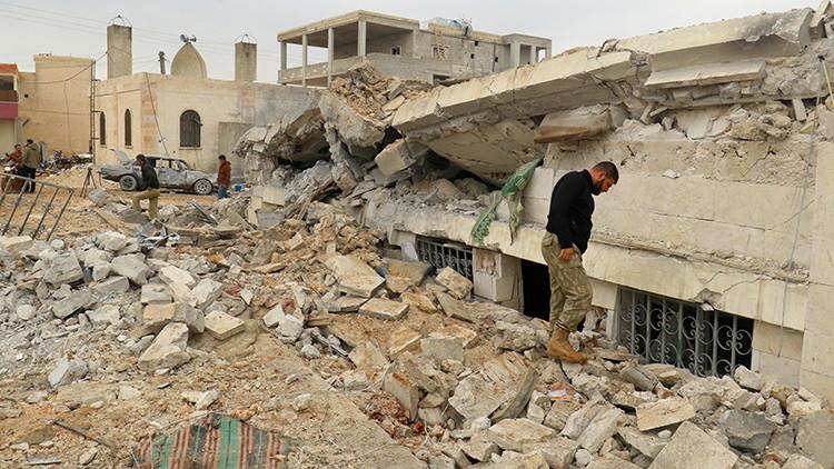 El Pentágono admite que sí bombardeó una mezquita de Alepo