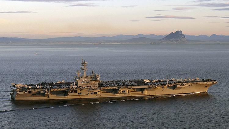 Drones iraníes incomodan a buques militares de EE.UU. en el golfo Pérsico