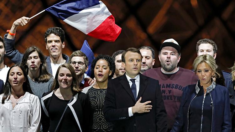Macron gana con un amplio margen las presidenciales de Francia