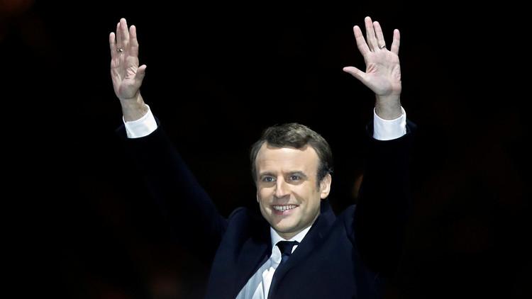 """Macron: """"Francia respetará los principios de la paz y defenderá el equilibrio mundial"""""""