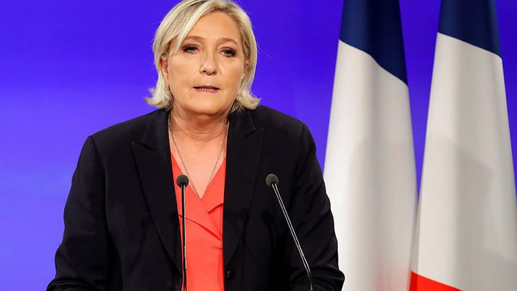 Marine Le Pen anunció que reformará el Frente Nacional