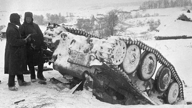 A la caza de tanques nazis: cómo los fusiles soviéticos detuvieron los vehículos blindados de Hitler