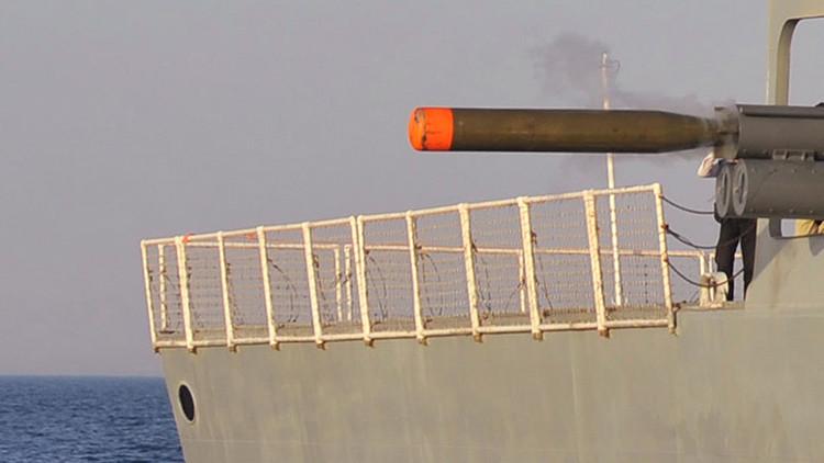Irán lanza un torpedo de alta velocidad cerca del estrecho de Ormuz