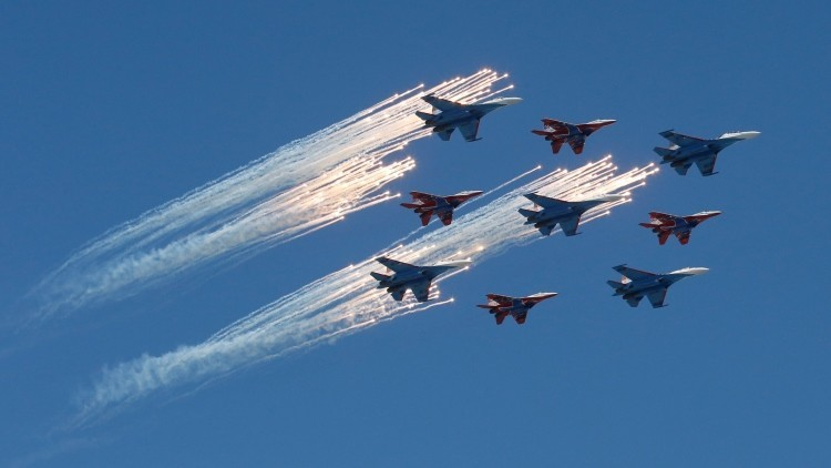 Rusia celebra el Día de la Victoria con imponentes desfiles militares a lo largo del país