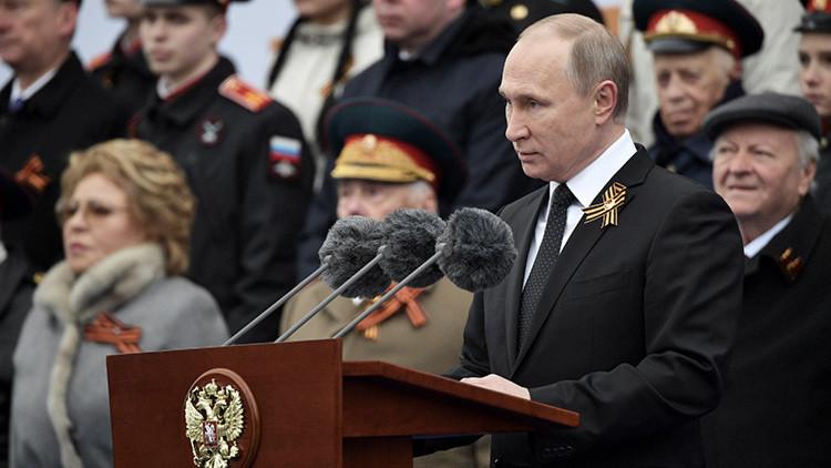 """Putin: """"No hay, no ha habido ni habrá una fuerza capaz de esclavizar al pueblo ruso"""""""