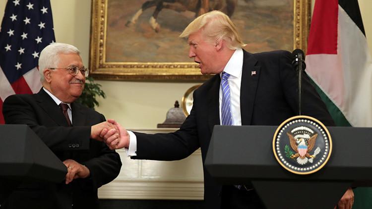 Abbás afirma estar dispuesto a conversar con Netanyahu bajo los auspicios de Trump