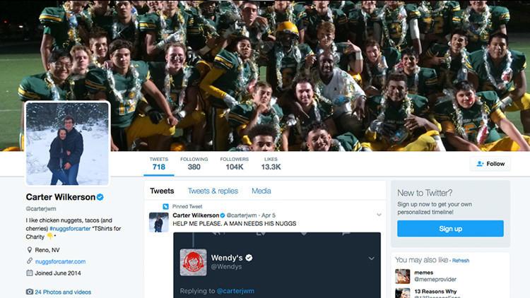¡Récord!: un pedido de 'nuggets' gratuitas se convierte en el tuit más retuiteado de la historia
