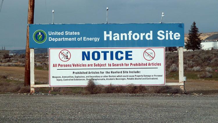 Declaran emergencia en Washington por el colapso de un almacén de residuos nucleares